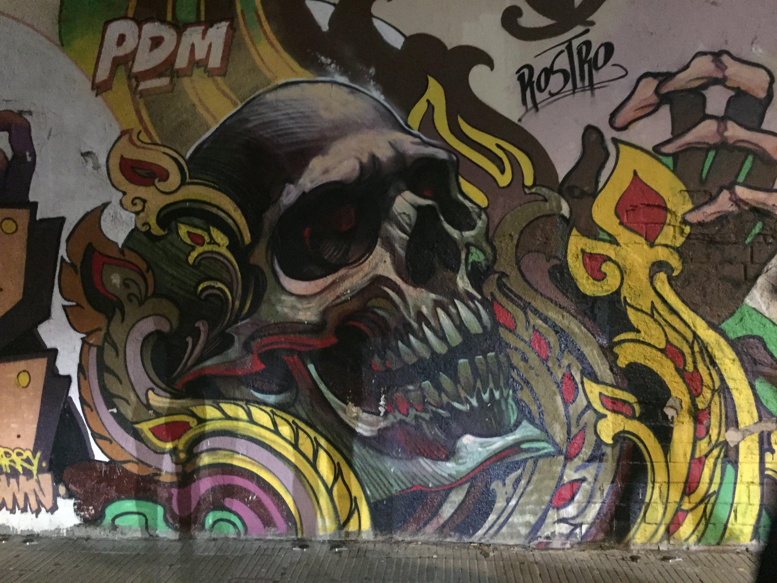 some killer street art in Granollers, Spain