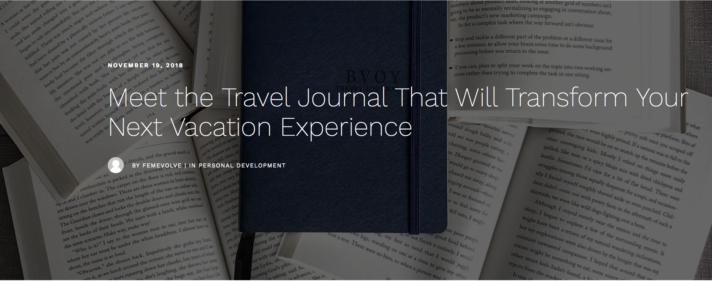 Meet the Travel Journal That Will Transform Your Next Vacation Experience