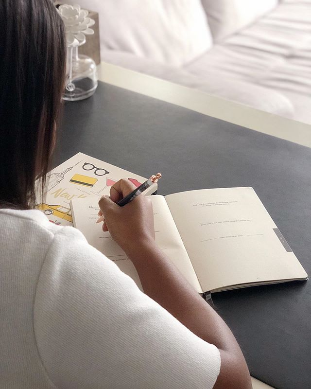 Take a moment in your Airbnb or hotel room and get yourself in a good mindset before you head out on a new day of travel. Do you have your BVOY Travel Journal for your next trip? - Shop the guided travel journal at the link in our bio, or at an Indigo/Chapters near you!