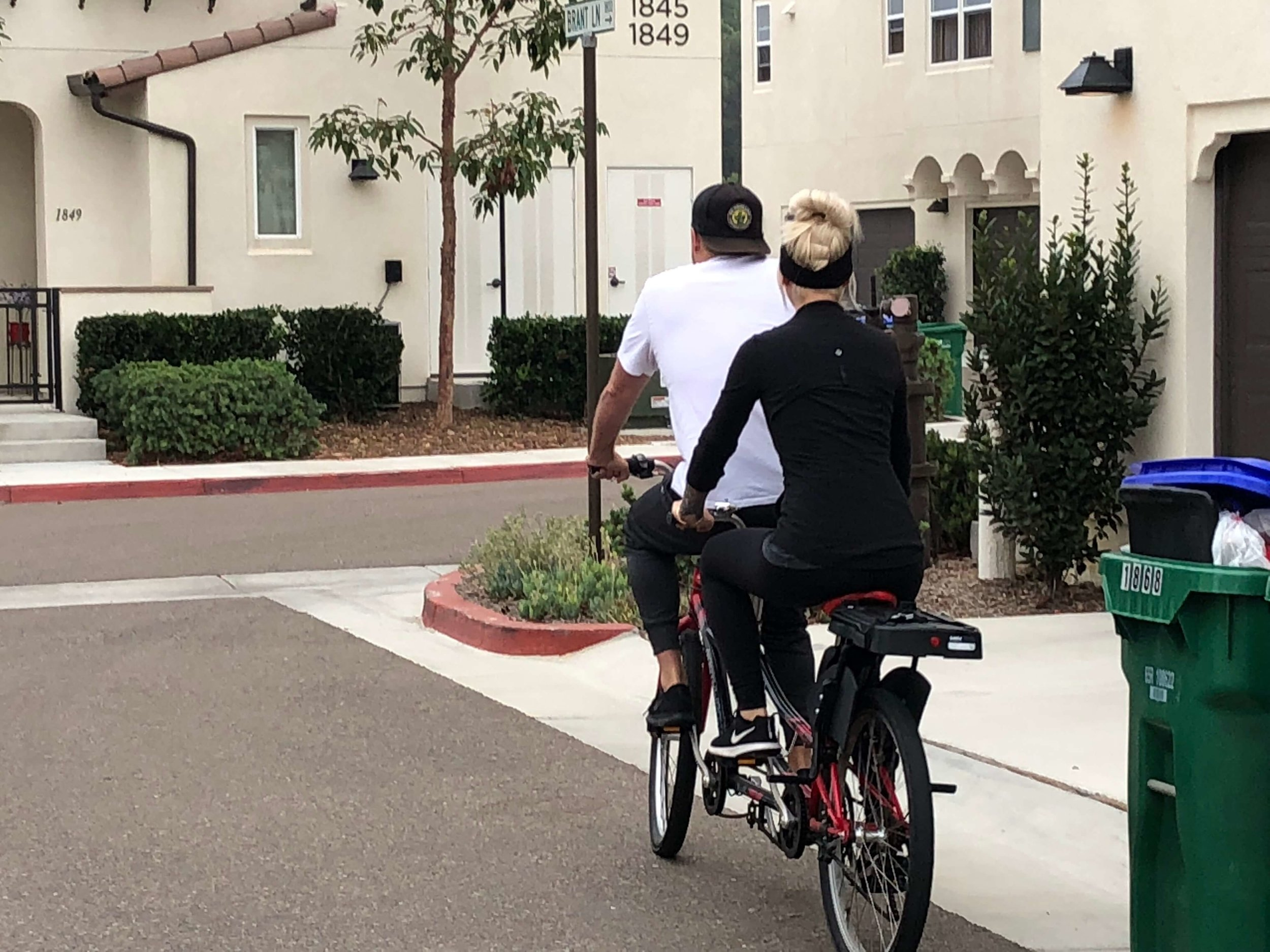 Jay Wick, LMFT, tandem bike