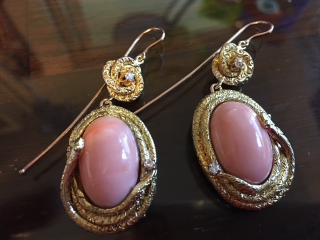 Angel Skin Coral Earring.JPG