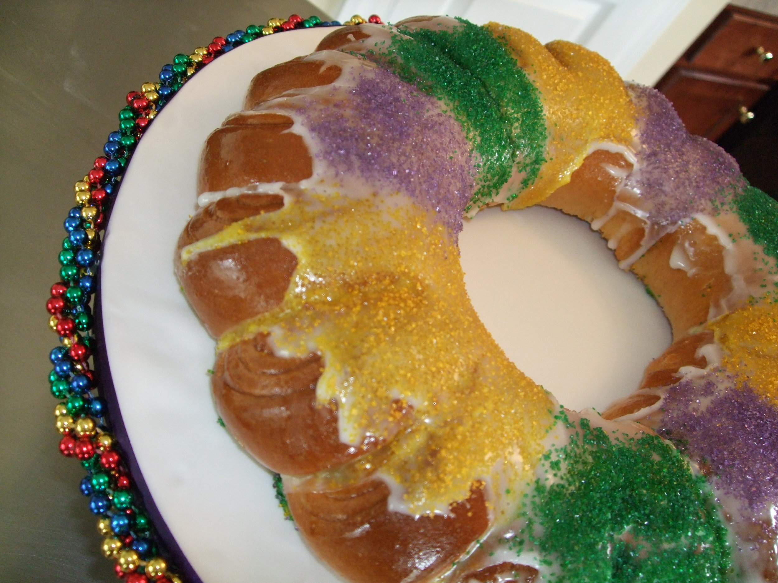 King Cake!!!! Happy Mardi Gras.