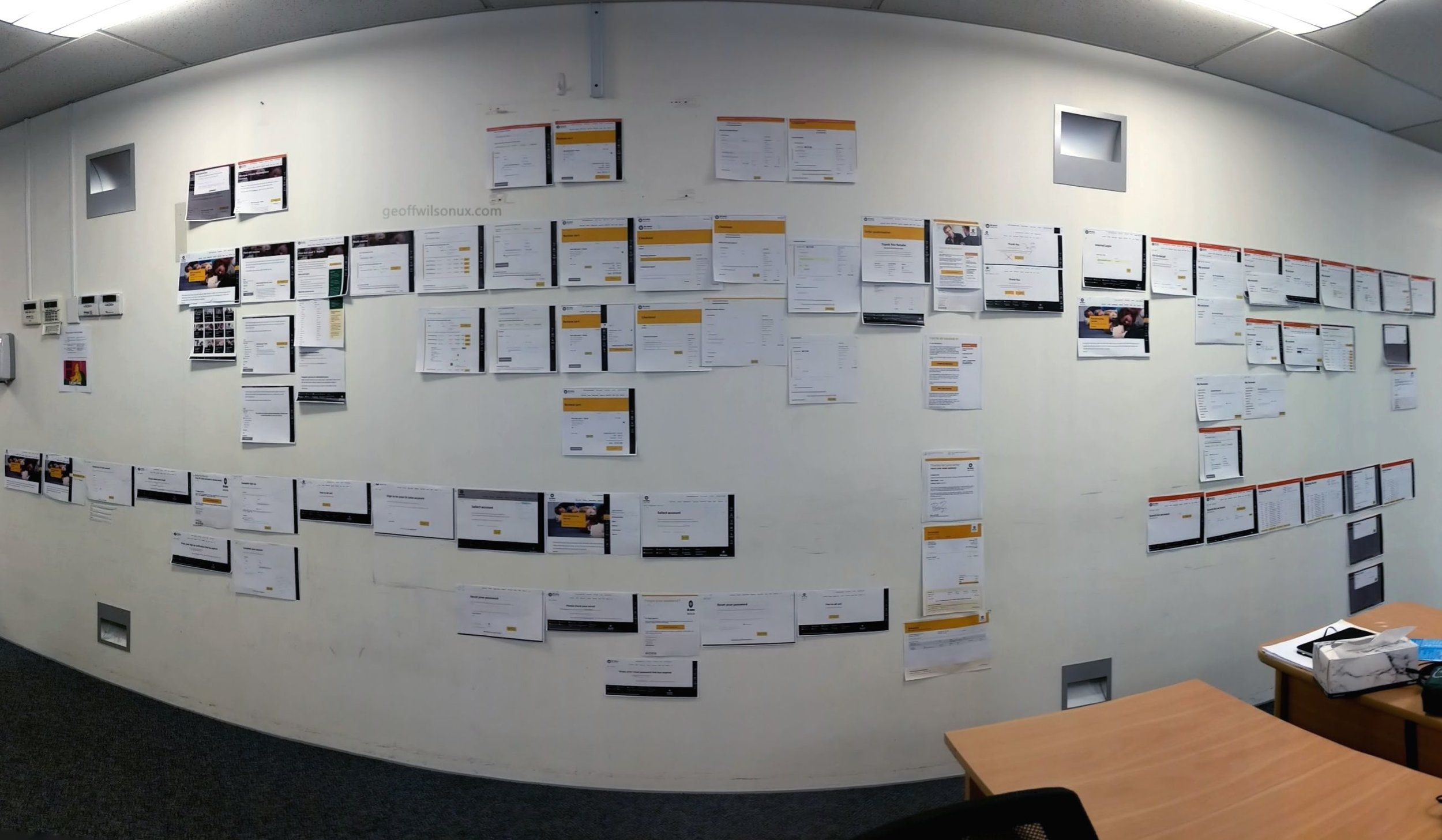 It took a year and a half to get to this point, but we're now onto our third major release including features and screens seen on this wall to be released mid-2019.