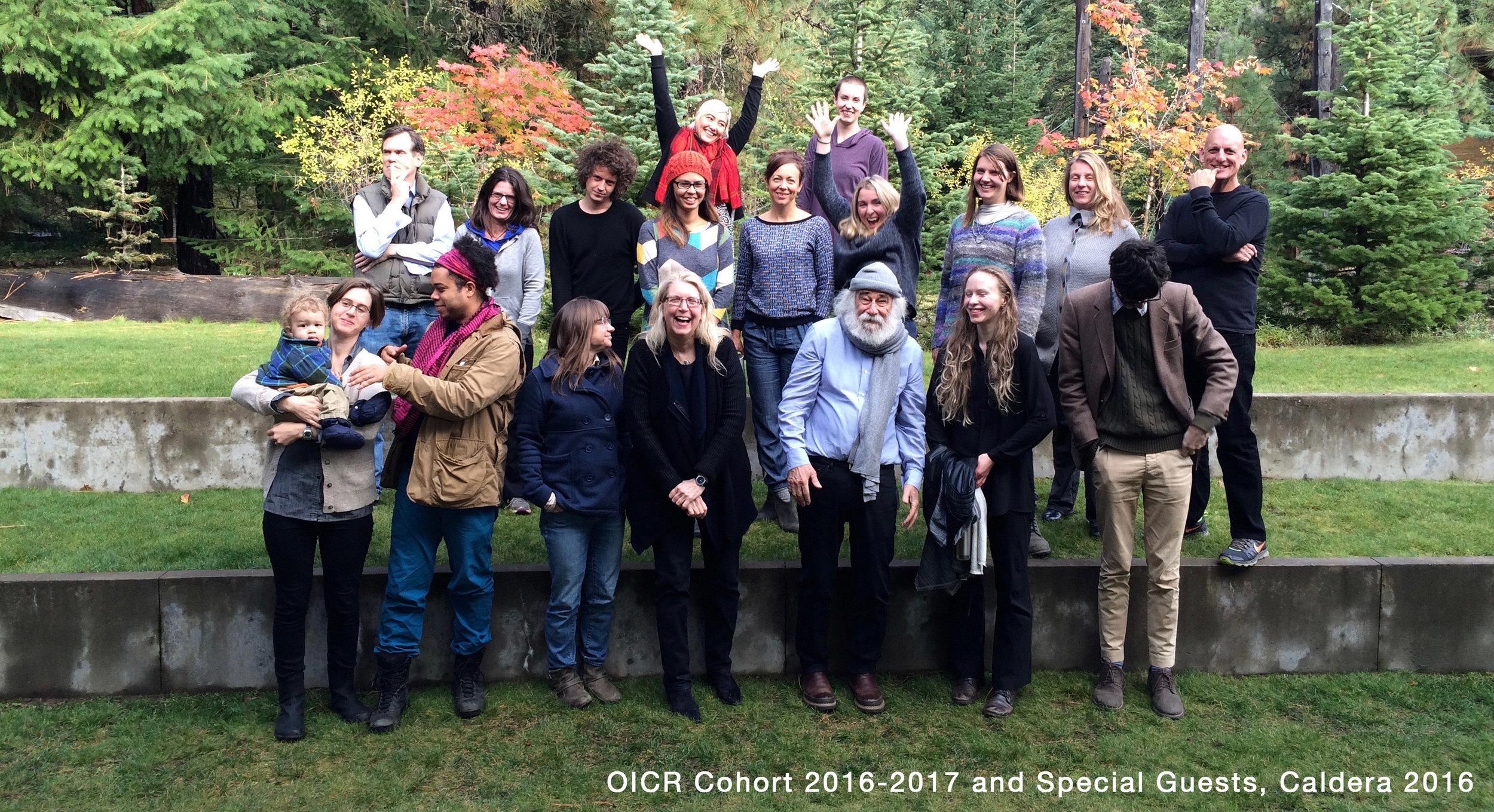 OICR Cohort 2016-2017 and Special Guests, Caldera 2016
