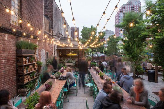 Host an open air pop-up restaurant -
