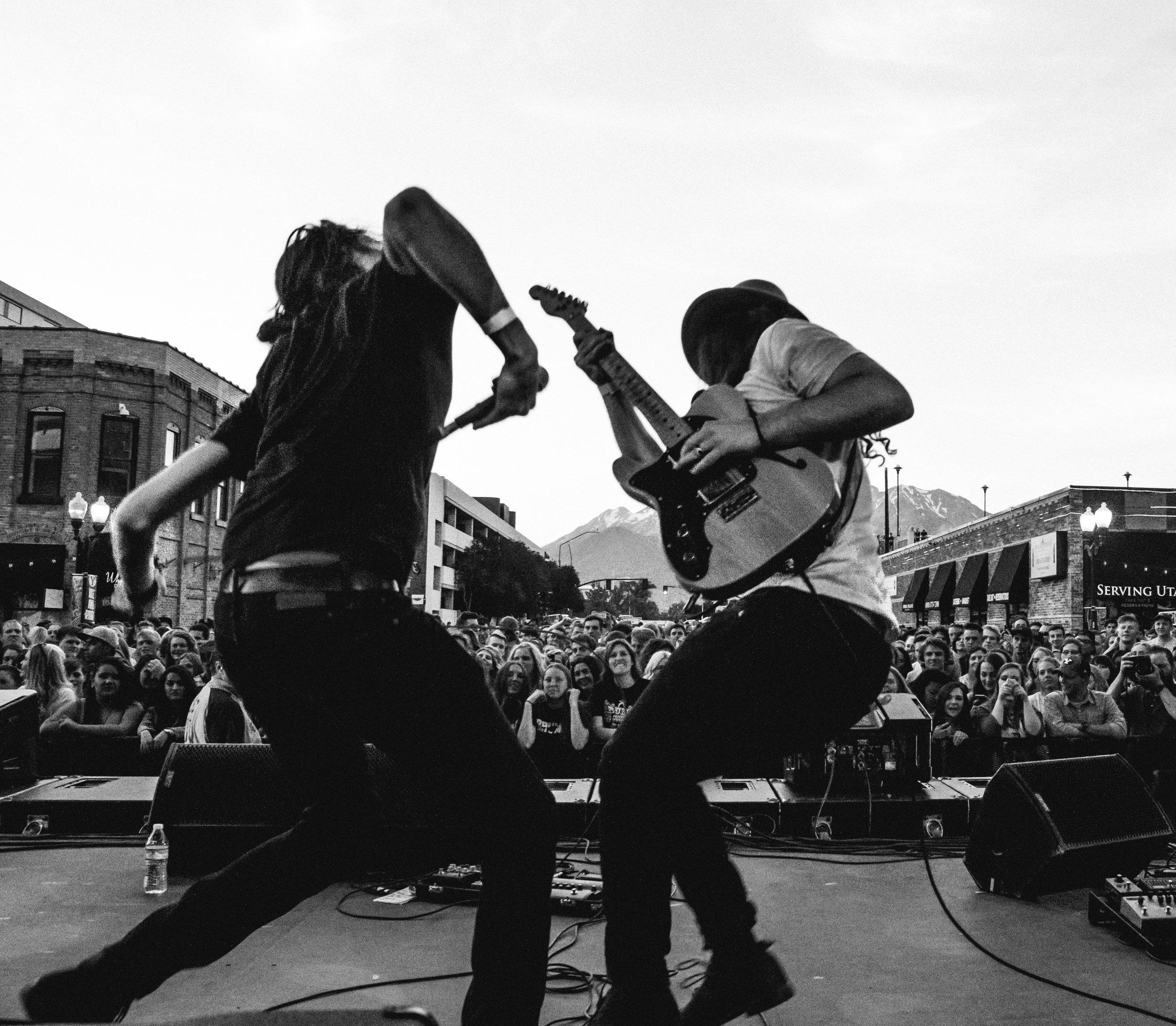 Start a music festival -