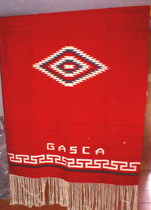 Jorongo Greca de T GASCA