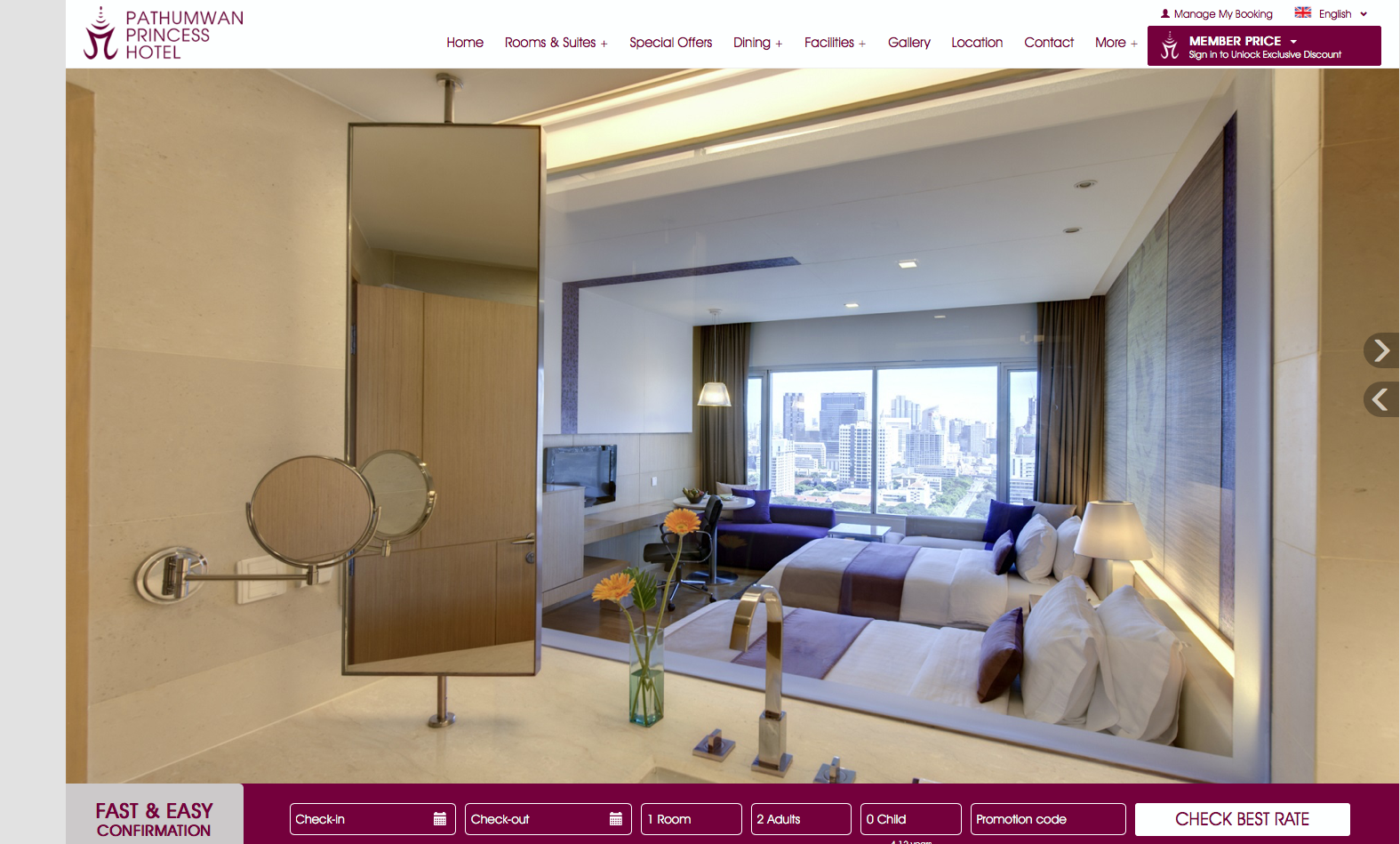 Pathumwan Princess Rooms Page.png