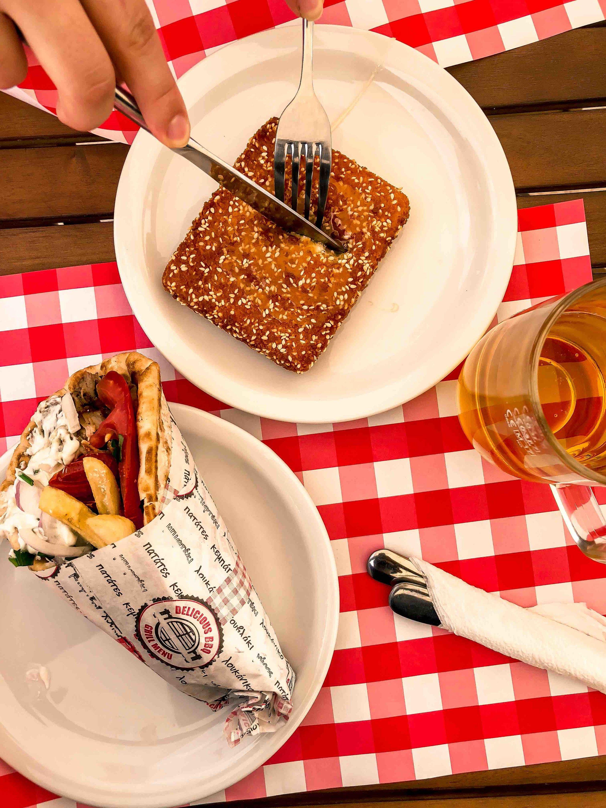 Gyro restaurant at Agrastoli