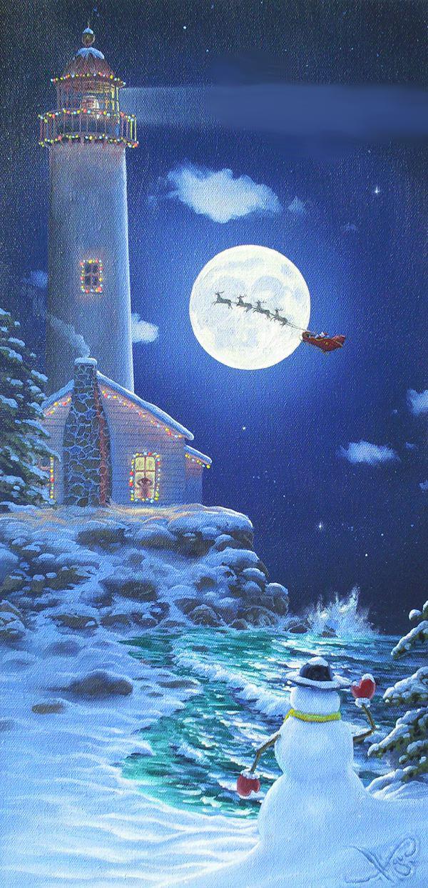 """""""Christmas Lighthouse"""""""
