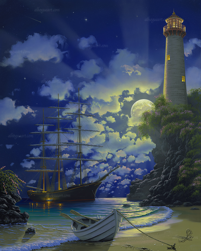 """ Destiny's Light""  SN 24X30 giclee 140  AC 30X37.5 giclee 120  MC 36X45 giclee 75  Total 335"