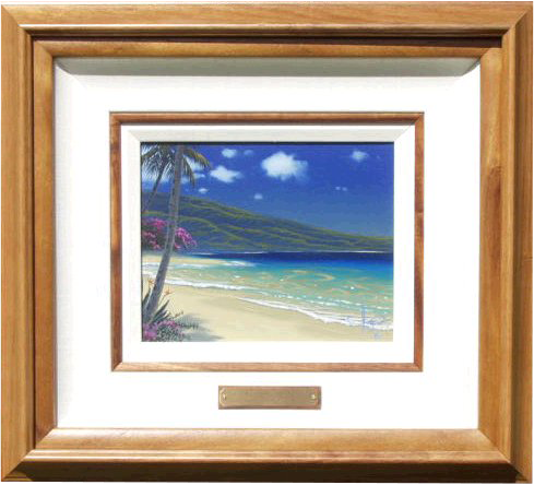 """Maui Summer"" 8x10 oil in the Ford family privet collection"