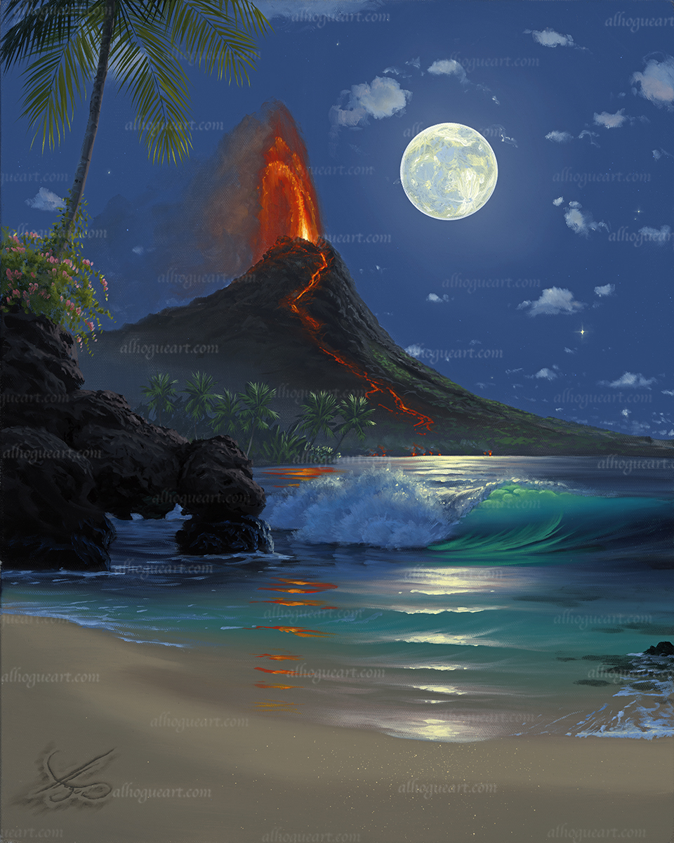 """Pele's Moon""  Ask about availability"