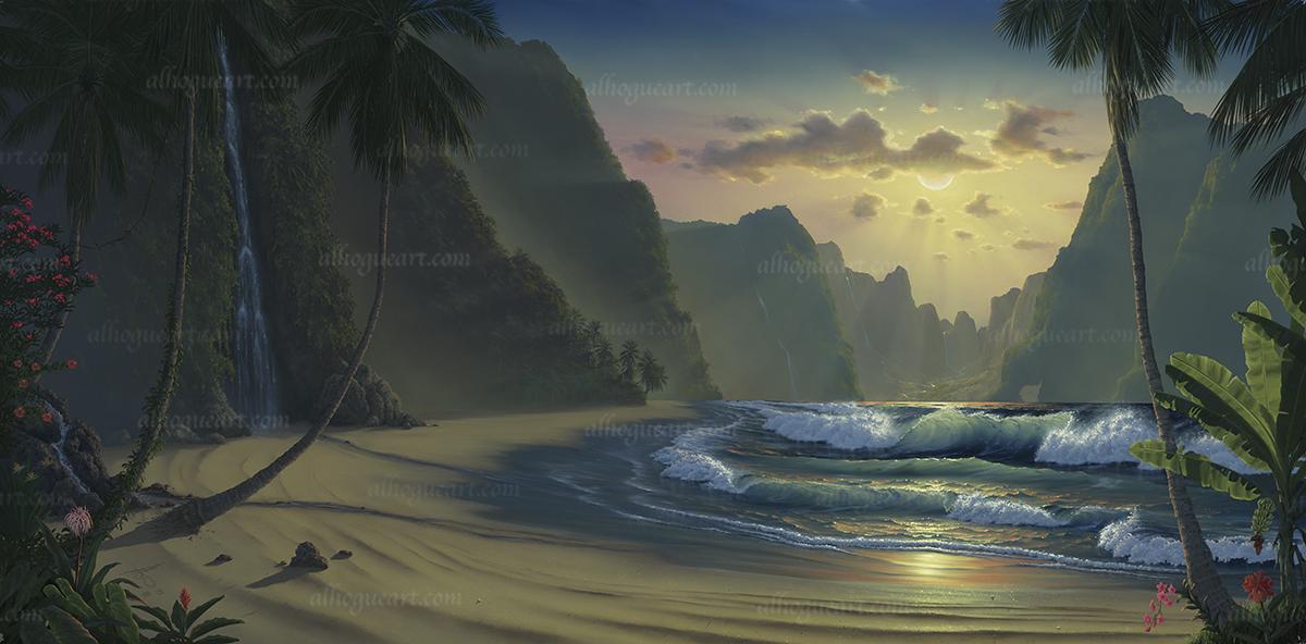 """Magic Island"""