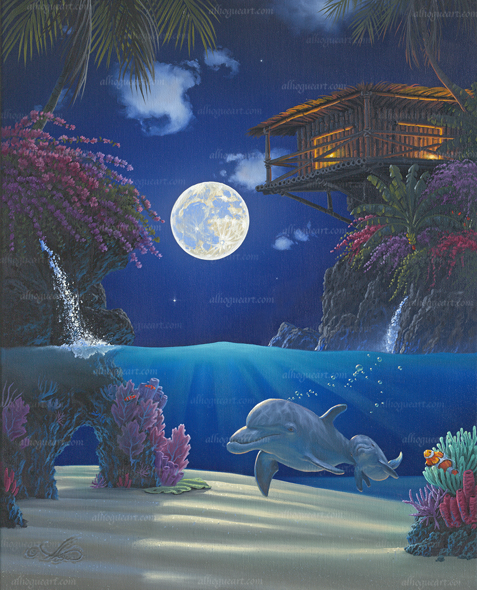 """""""Journey In Paradise""""  Available on limited edition Giclee on canvas"""