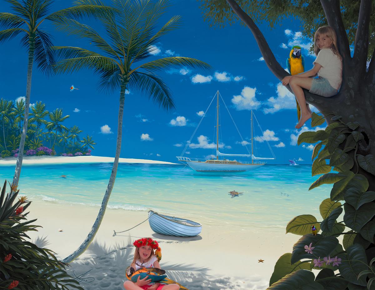 """""""Brielle & Sarah's Sunlit Paradise"""""""
