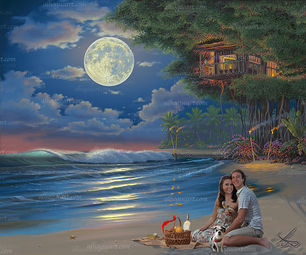 """Kathy, Ryan & Angel's Moonlit Serenade"""