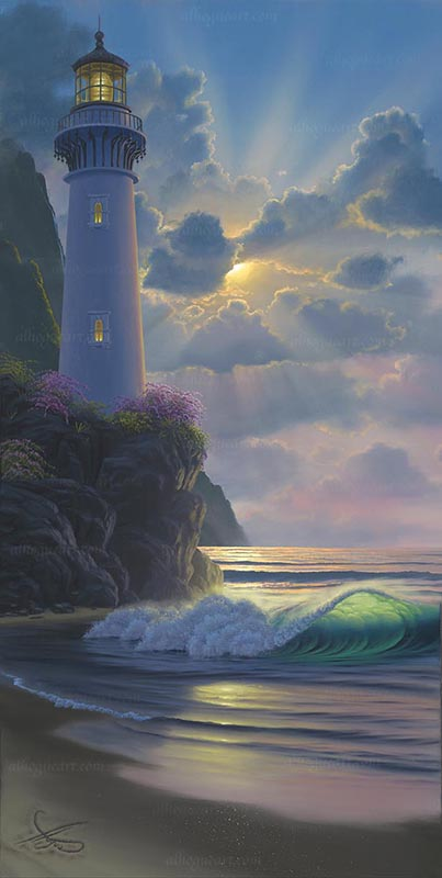 """""""Heaven's Glory"""" Available on limited edition Giclee on canvas"""