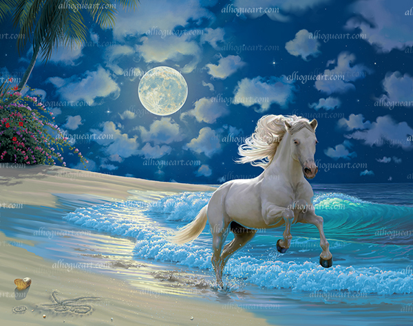 """""""Moonlit Dancer""""  Available on limited edition Giclee on canvas"""
