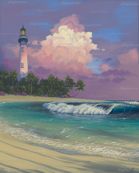 """""""Sanctuary's Light"""" Available on limited edition Giclee on canvas"""