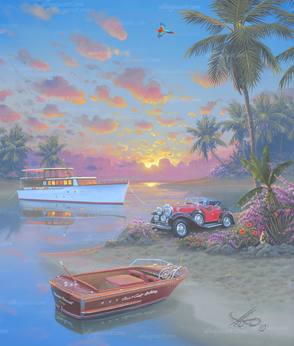 """""""Classic Sunset"""" Available on limited edition Giclee on canvas"""
