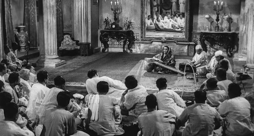 A performance in 'The Music Room' by Satyajit Ray