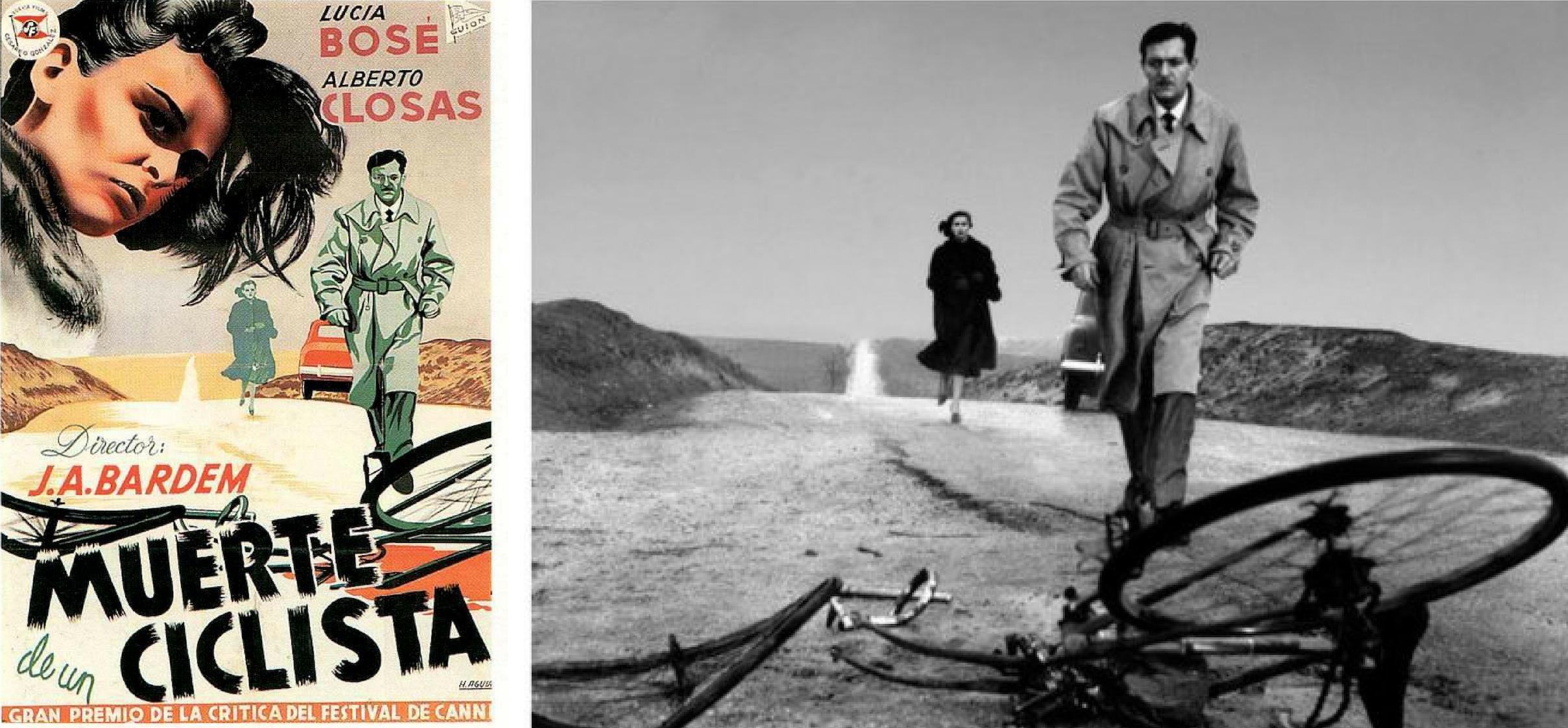"""""""Death of a Cyclist"""" (1955), by Juan Antonio Bardem"""