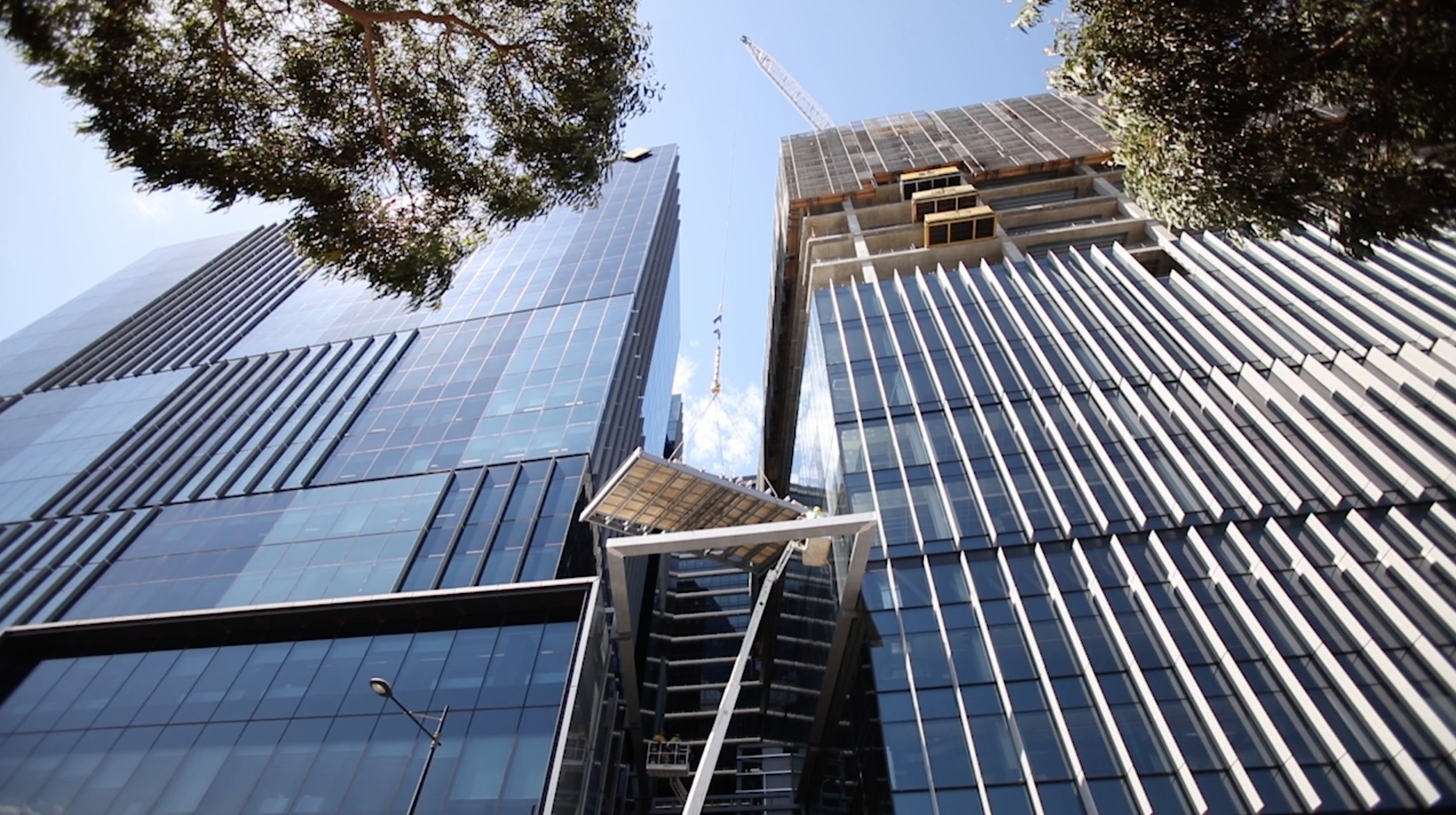 Client: Multiplex Project: Collins Square Roof Canopy Replacement