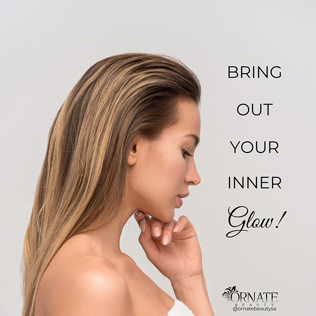 We can help you bring out that inner glow! Choose from our range of facial options tailored to you and your skin needs!  Call us on 8269 7177 to make your booking! #ornatebeautysa #adelaidesalon #like #follow #love #facials #skincare #lookafteryourskin #bringoutyourinnerglow #innerglow #glowingskin #skin