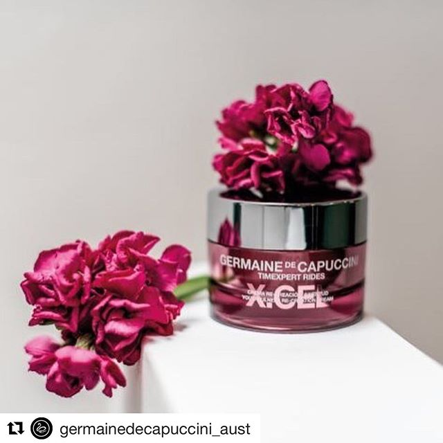 """#Repost @germainedecapuccini_aust ・・・ Wishing you could erase those pesky wrinkles?  Our answer to this is......... XCEL Recreation Cream as it has a rich, nourishing texture and uniquely contains a Swiss Stem Cell to stimulate cell growth & repair the """"tear"""" in the skin (ie: the wrinkle). After just one month of use, results achieved were: - 77% reduction in wrinkles - 65% firmer skin - 100% more hydrated  Speak to your GDC Skin Therapist today or visit germaine-de-capuccini.com.au  #germainedecapuccini_aust #germainedecapuccini #skinhealth #skinageing #skingoals #awesomeskin #luxuryskincare #skincare #deepwrinkles #hydration #treatmentcream #antiwrinkle #ornatebeautysa #adelaidesalon #walkerville #like #follow #love"""