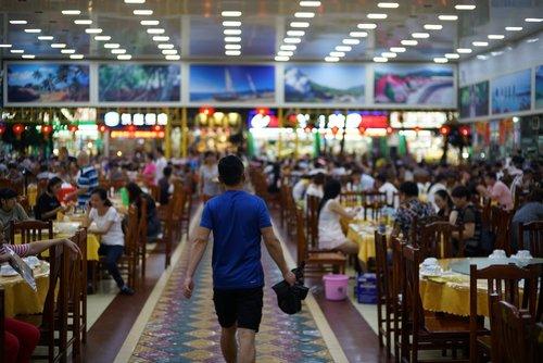 Sanya's night fish market