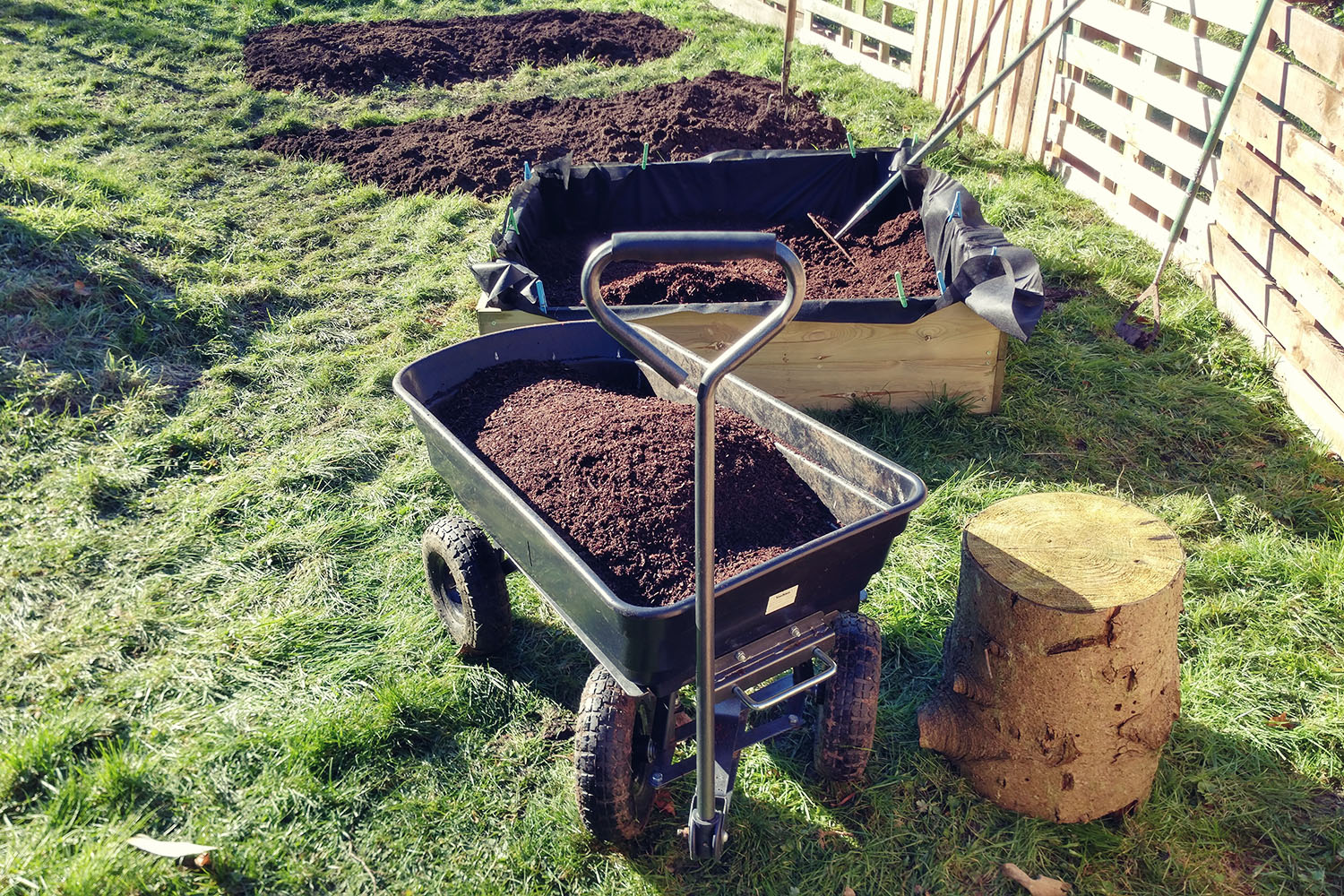 Our home-made fully organic compost