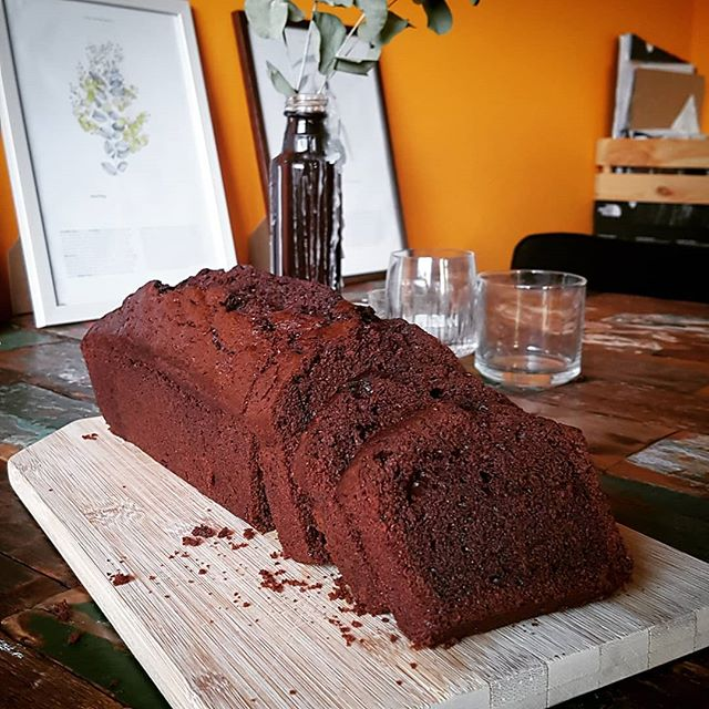 Our excellent chocolate and beetroot cake is hanging out at @marqt. Go forth and devour!