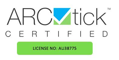 ARCtick-certified-license-number-AU38775
