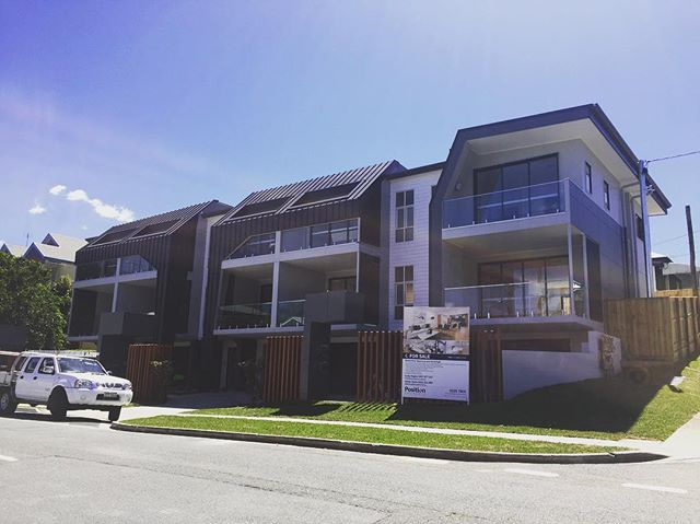 5 townhouse Panasonic split ducted systems with My Air 5 control system completed for Cullen Group #Panasonic #myair5 #advantageair #cullengroup #aquariusair #brisbane