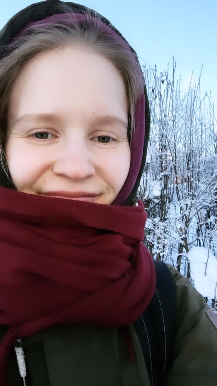 Iloa ja lämpöä talven keskelle toivottaa Annina Amidalta :) -