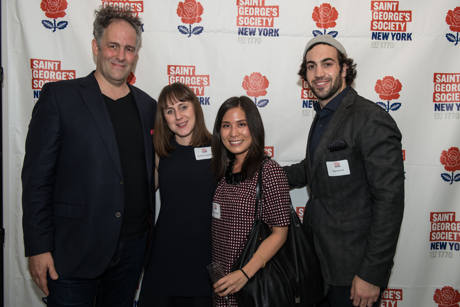 The Landor team (L to R): Wally Krantz, Jemma Campbell, Mari Iwahara and Matt Koval.