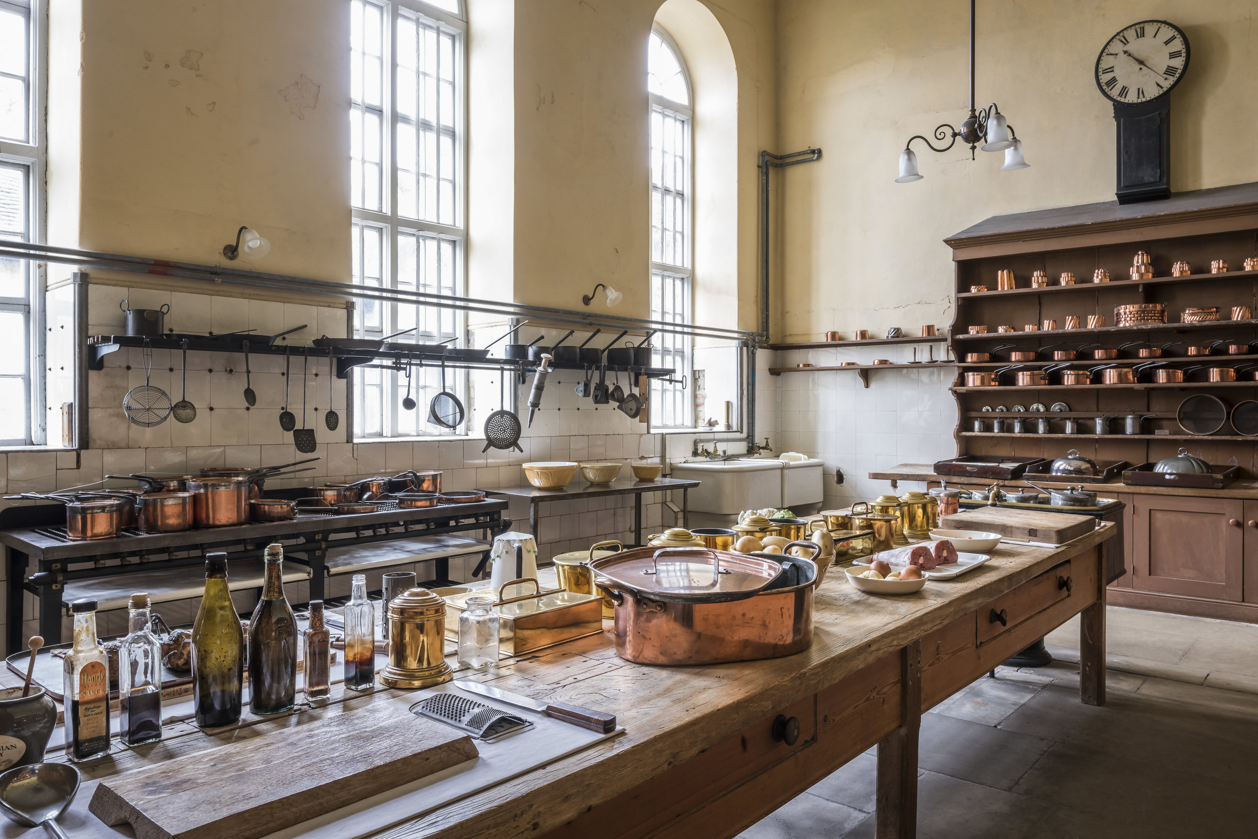 The Kitchen at Petworth House and Park, West Sussex ©National Trust Images, Andreas von Einsiedel