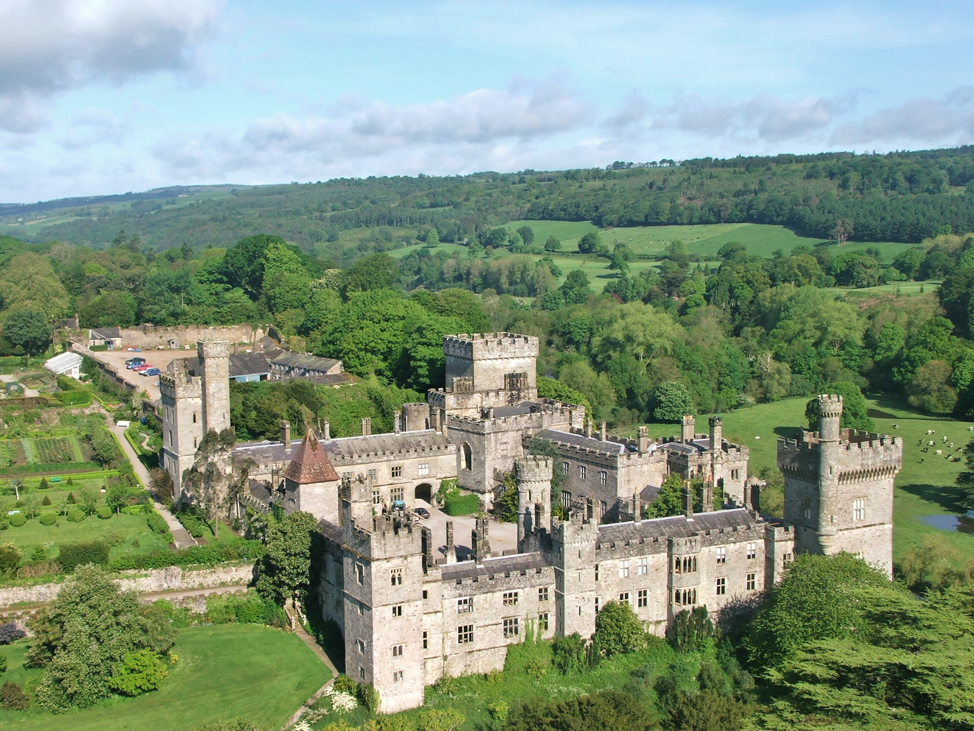 Lismore Castle: 'Built by King John, plumbed by Adele Astaire' - Presented by William Cavendish, Earl of Burlington