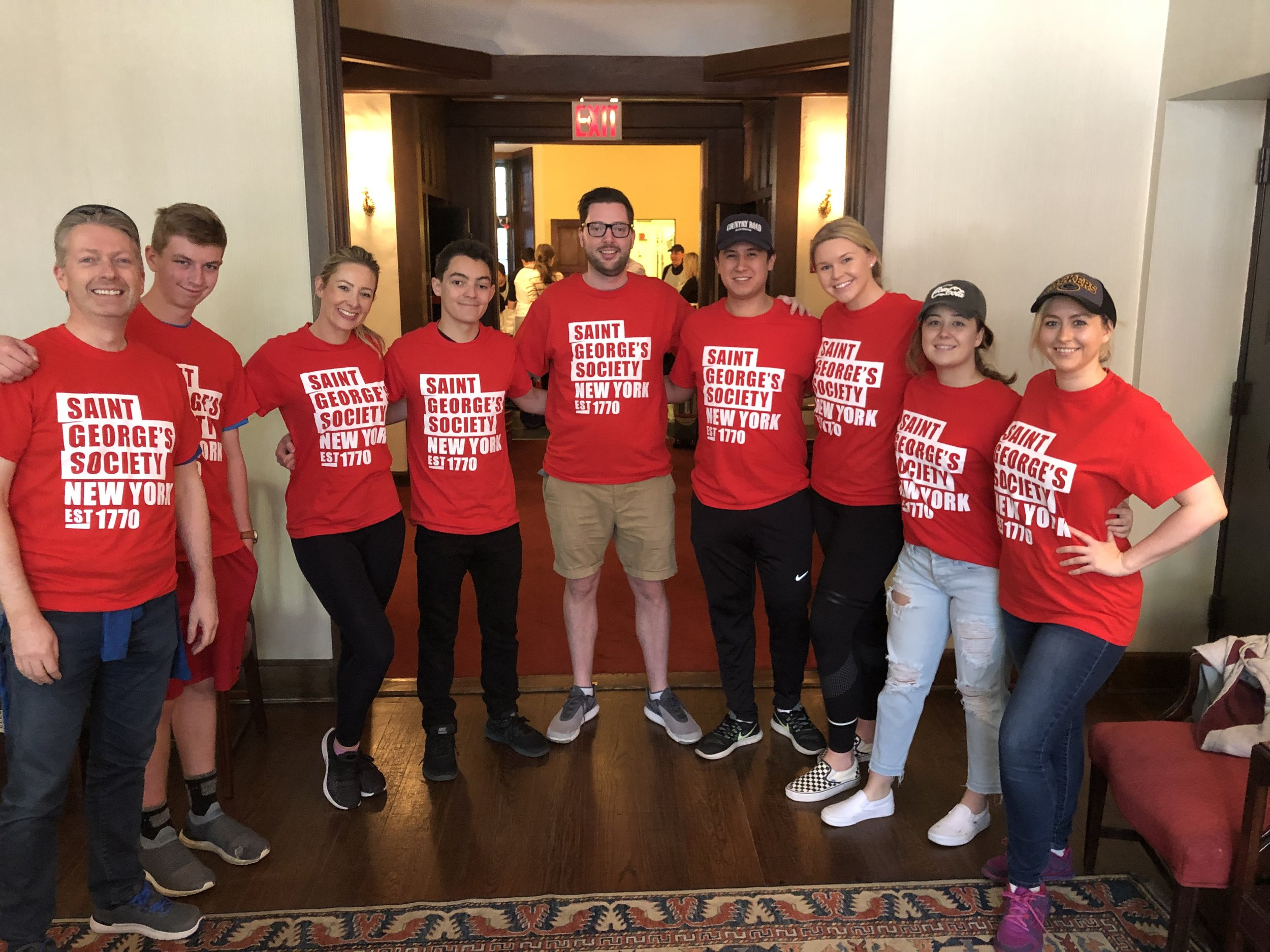 ST. GEORGE'S GIVES BACK - MAY 2019