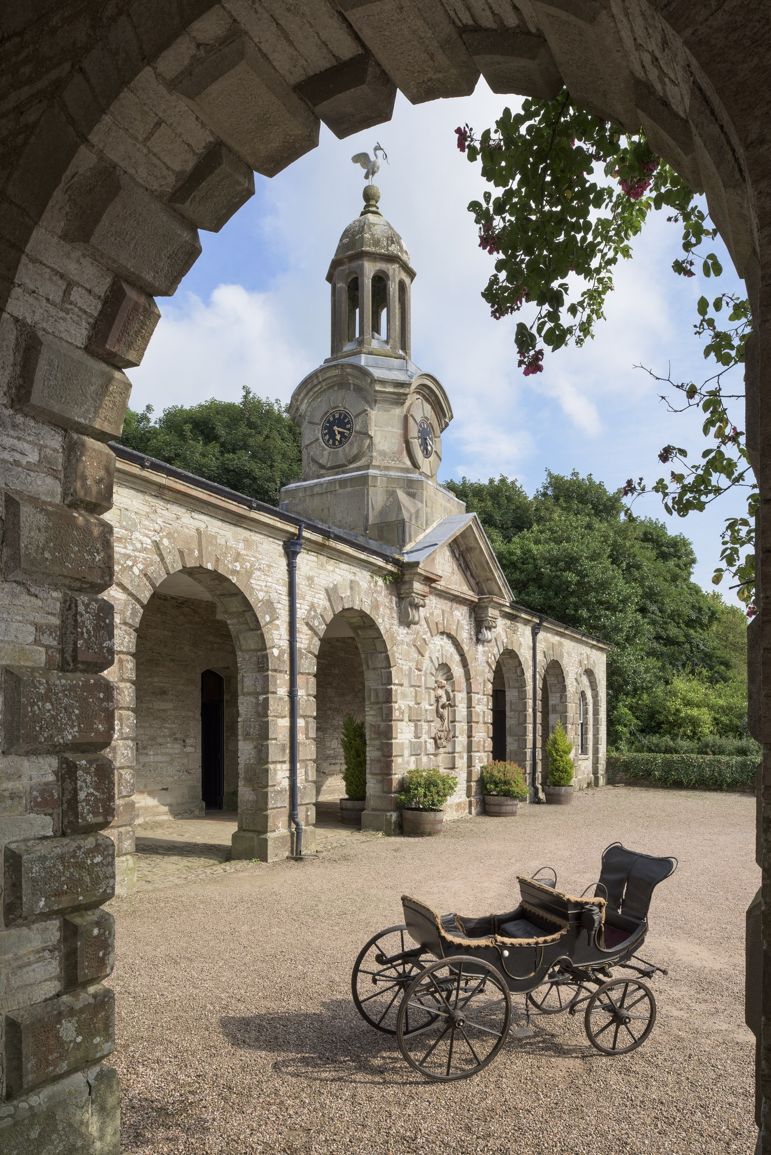Child's carriage at Arlington Court and the National Trust Carriage Museum ©National Trust Images John Hammond