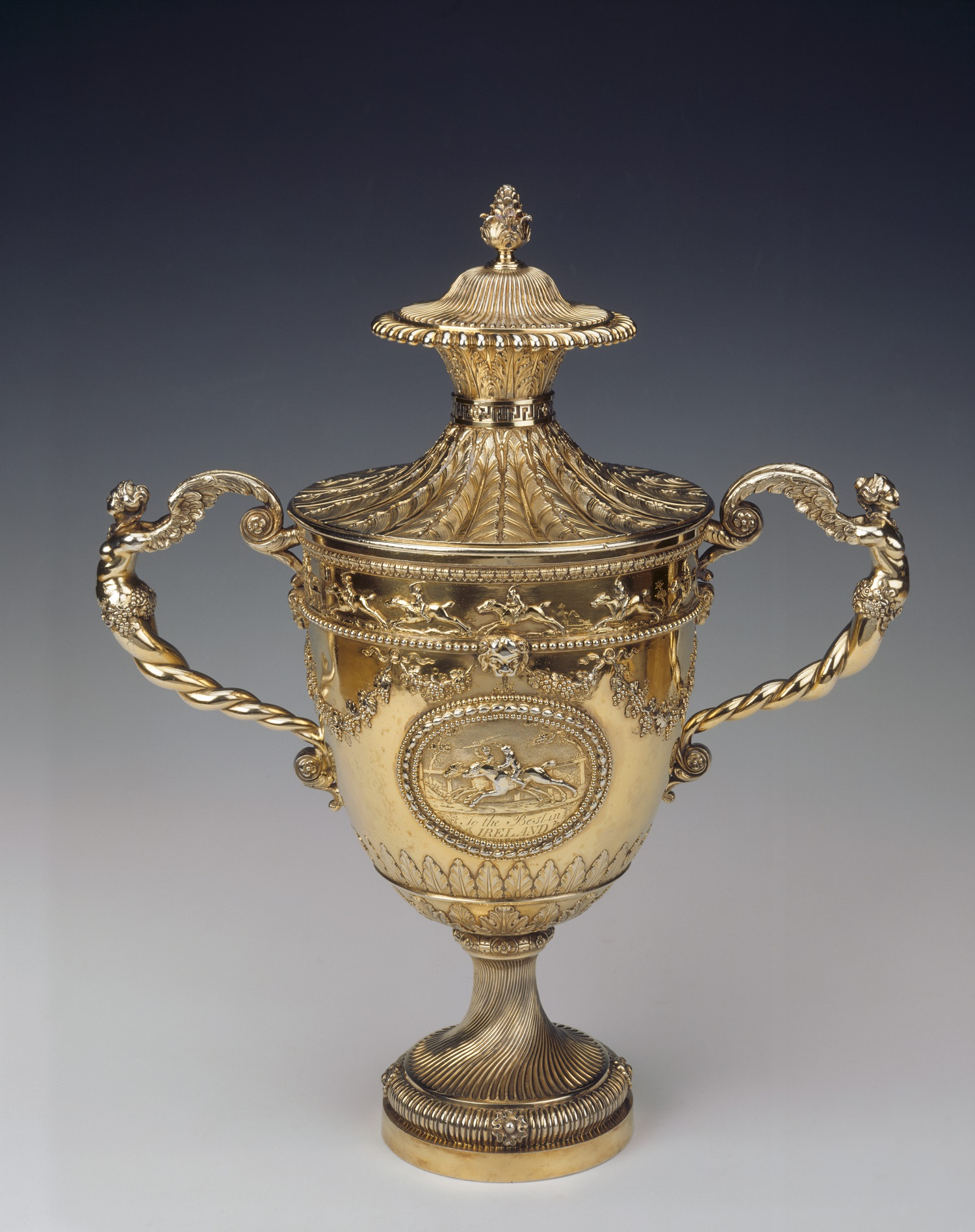 Silver Cup by Daniel Smith and Robert Sharp Anglesey Abbey ©National Trust Images James Austin