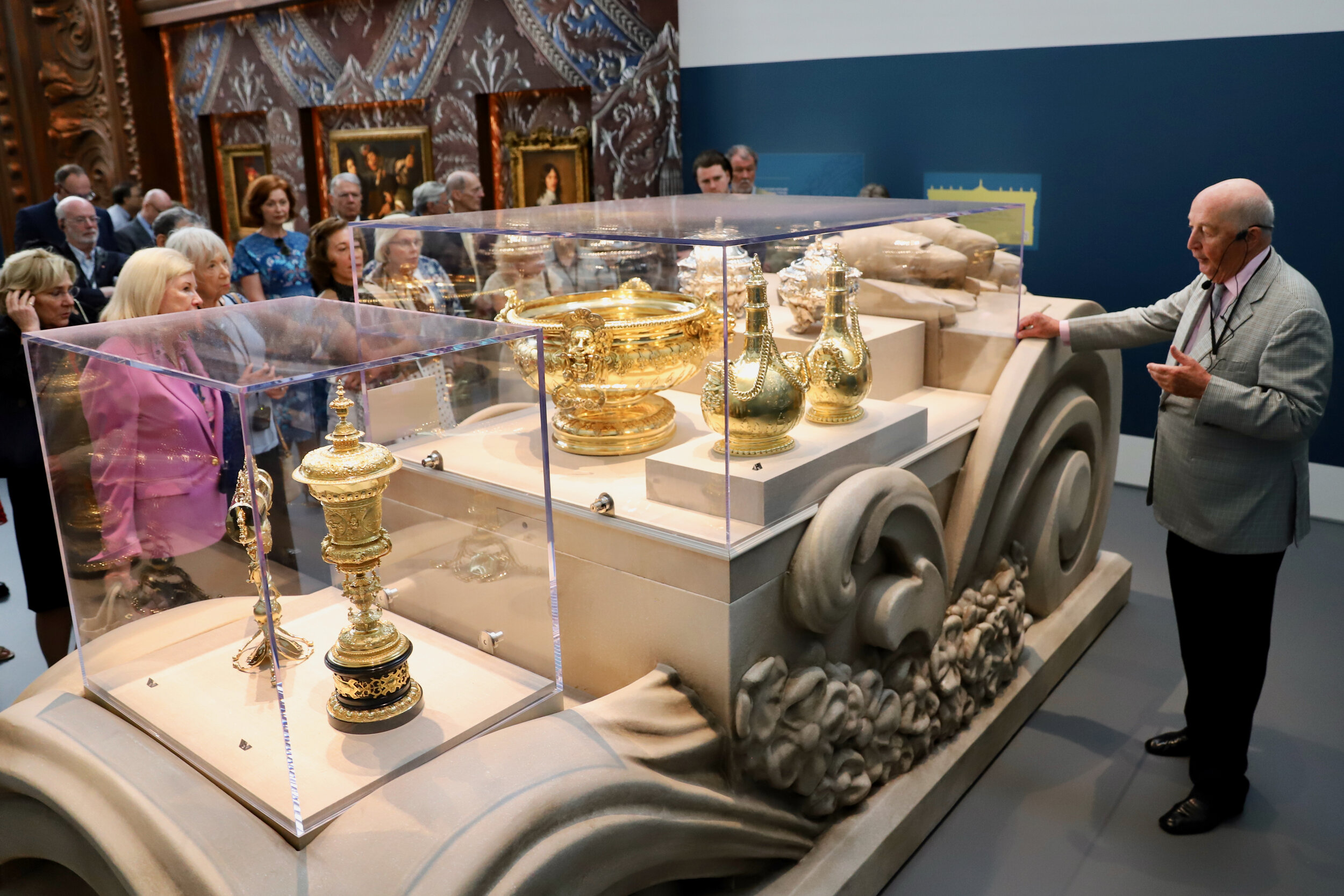 TREASURES OF CHATSWORTH EXHIBITION