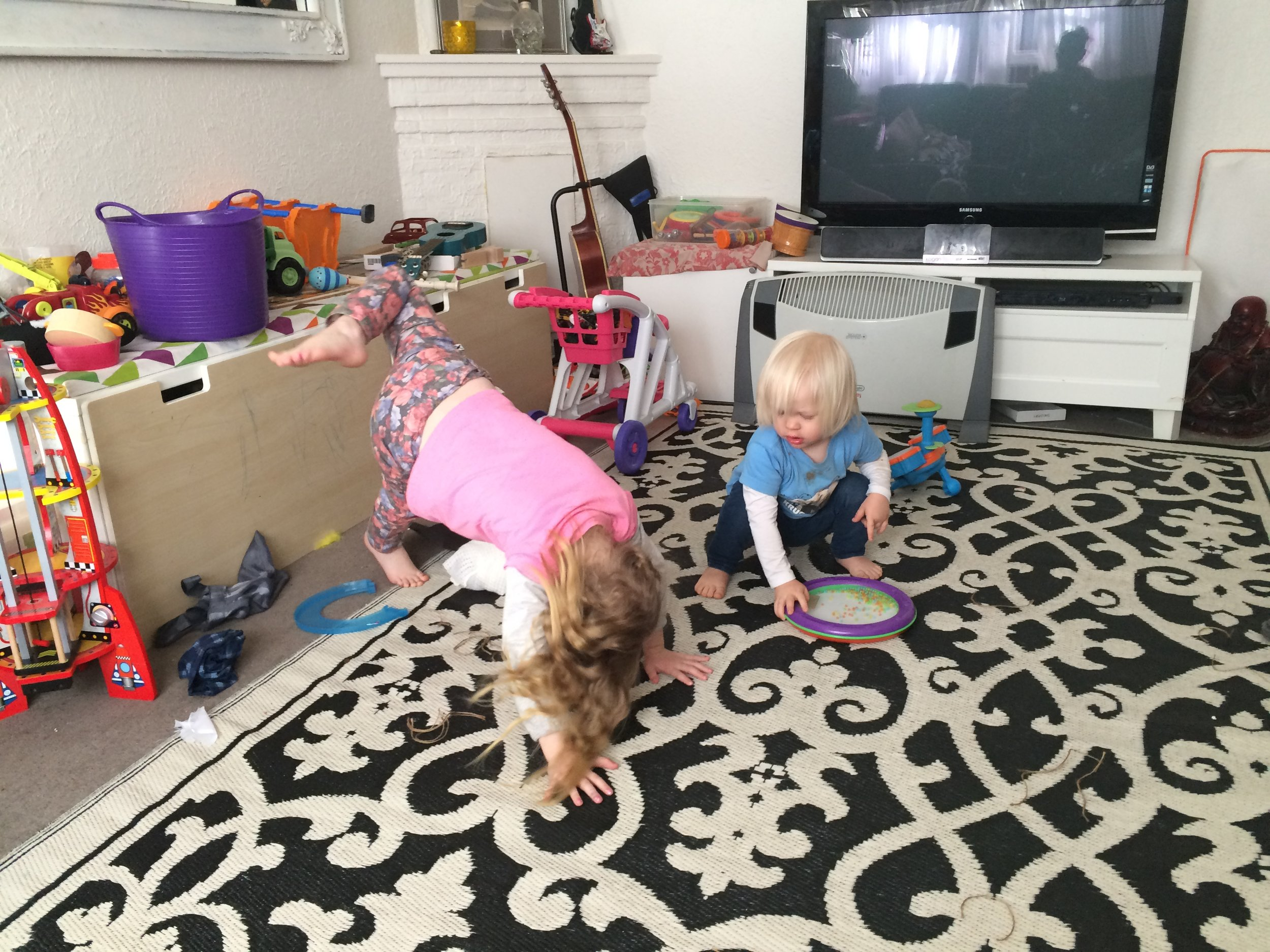 Life with small children can be fun, but it sure is messy!