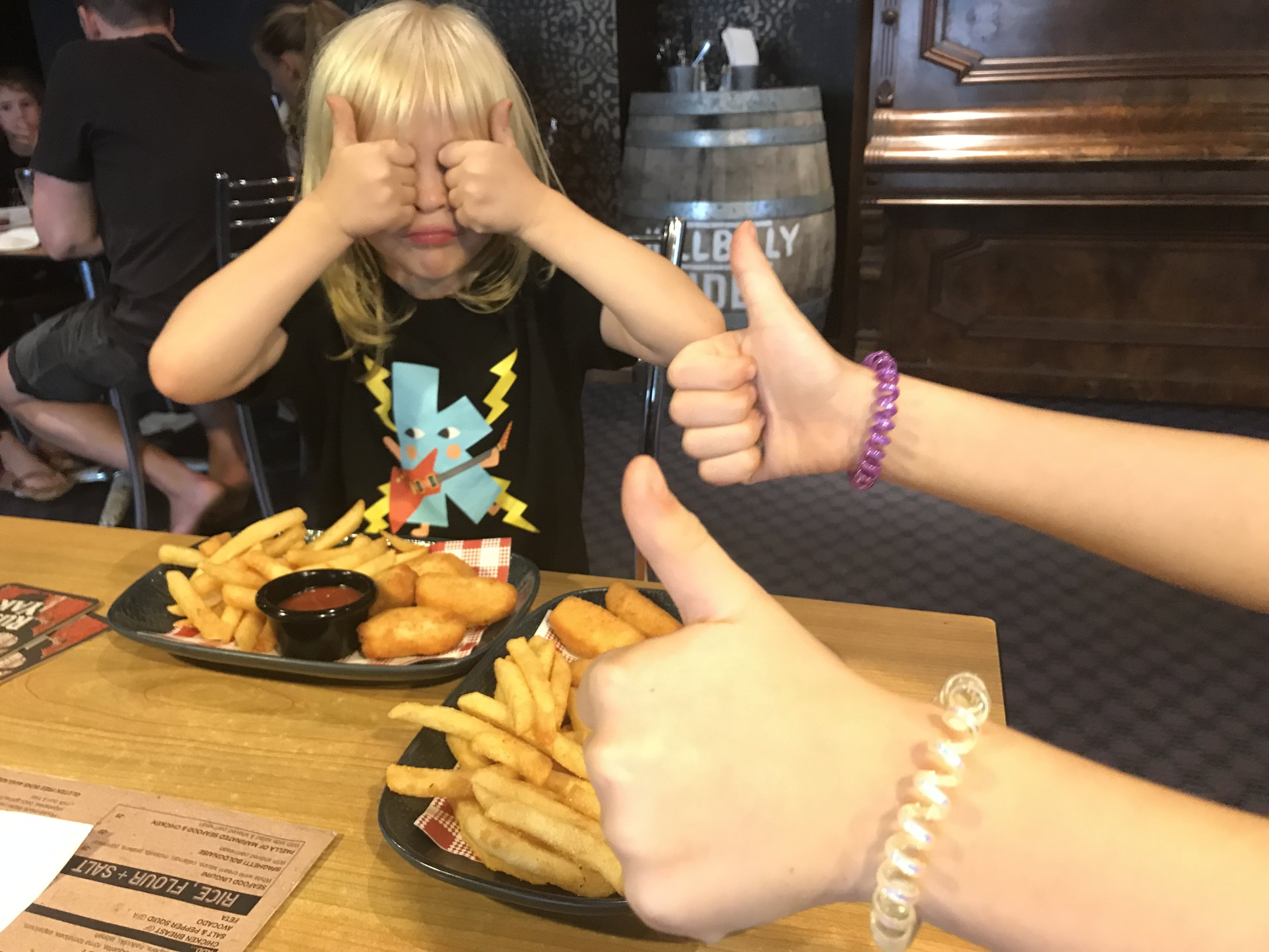 Children give the thumbs up to Sydney's best restaurants