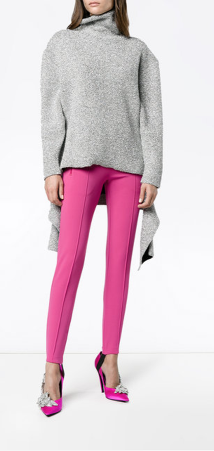 BALENCIAGA  pantalon de jogging slim Fuseau