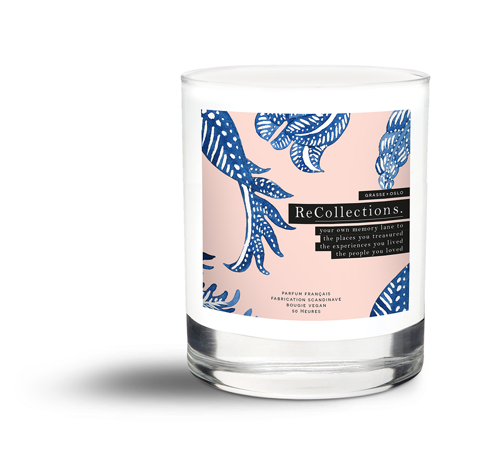 recollections candles natural and vegan