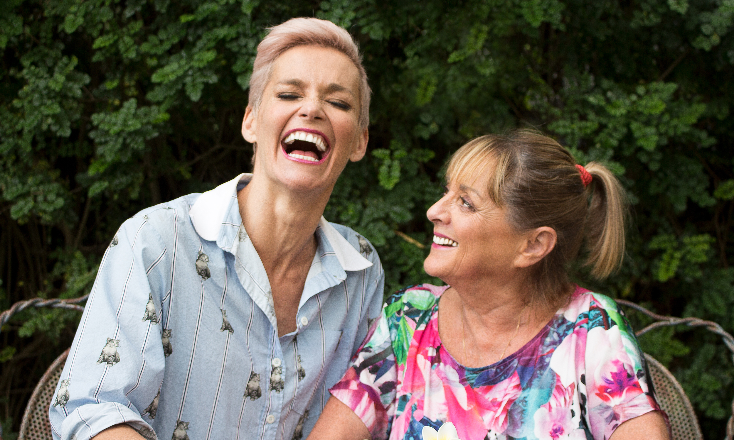 Listen now. - One Fat Lady and One Thin Lady by Jessica Rowe and Denise Drysdale is now available on all podcast sites and Virgin Australia in-flight entertainment.