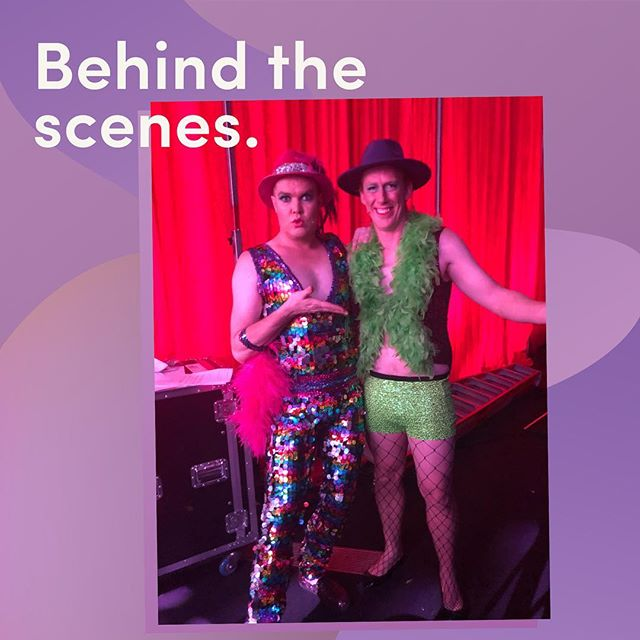 Behind the scenes with Hans and Cameron Ling at the Good Friday Appeal! @accordionhans @channel7 #watercoolertalent