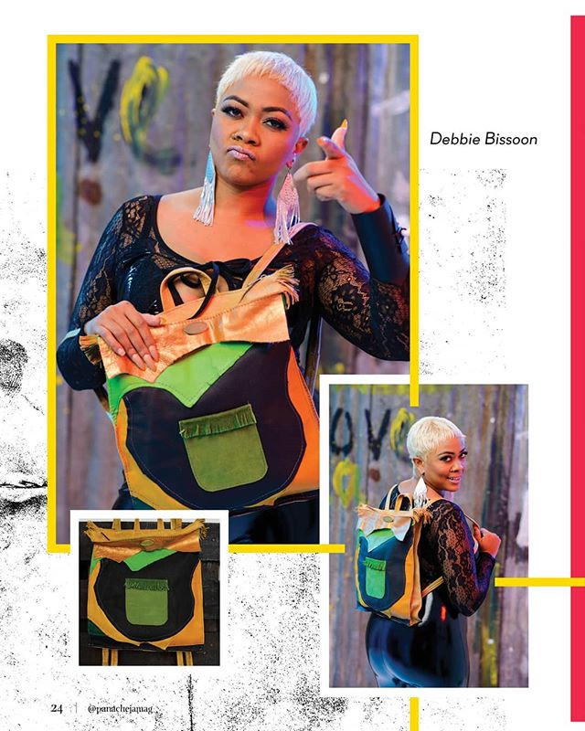 O U R  L A T E S T  I S S U E  I S  O U T Delight in the roots, rock, reggae themed collection by Jamaican fashion designer, Sabrina Reynolds.  Shop these designs at more at her Instagram store @smrleatherbagsja 🇯🇲 📸: @ch_photographyltd  #Fashion #Beauty #Style #Dancehall #Reggae #Jamaica #Caribbean